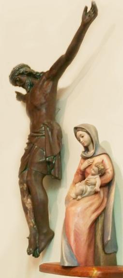 Nun's Chapel Crucifix and Madonna